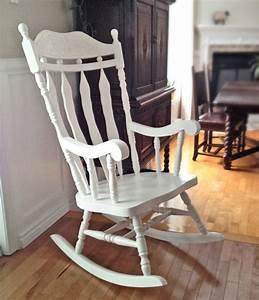 Chaise Blanche Bois : chaise ber ante blanche haut dossier bois ~ Teatrodelosmanantiales.com Idées de Décoration