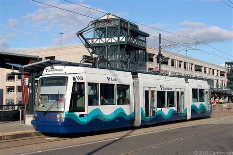 tacoma light rail tacoma joins rail transit space race