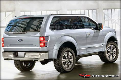 Get Ready For An All-new Ford Bronco … 2016 Edition … Or