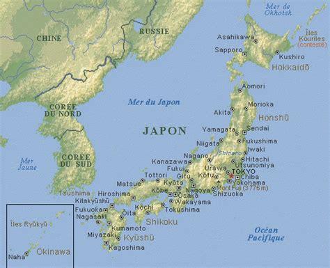 Nouvelle Carte Du Monde Japonais by Infos Sur Okinawa Carte Japon Arts Et Voyages