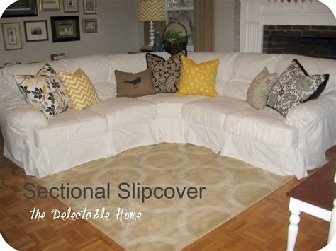 sofa slip covers for sectionals the delectable home impossible sectional slipcover