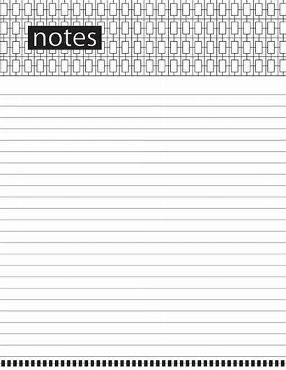 Notes Note Printables Printable Theme Em