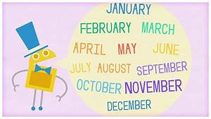 Time   U0026quot Twelve Months Of The Year U0026quot  By Storybots