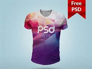 T shirt mockup psd template by psd freebies dribbble for T shirt template psd free download