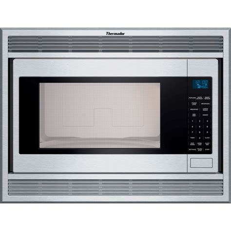 thermador mbes     cu ft built  microwave oven