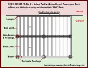 12x12 deck plans images 12 x 12 deck deck plans free deck plans and decking