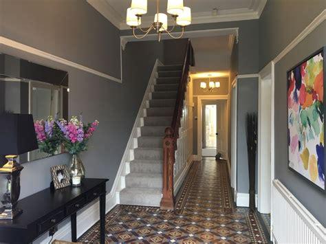 hall  farrow ball manor house grey   london