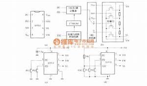 Digital Potentiometers X9511 Circuit Diagram