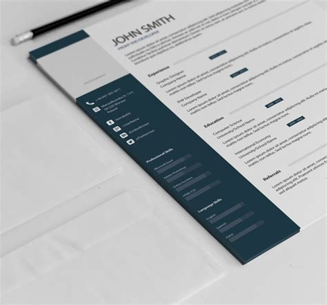 free creative resume templates for application psd pdf