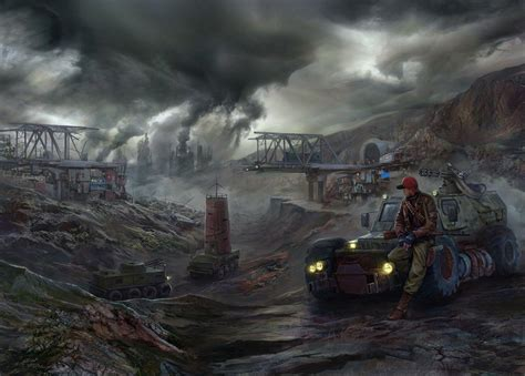 Post Apocalyptic Background Apocalyptic Backgrounds Wallpaper Cave