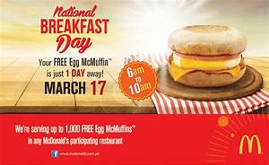 Deals in Pakistan » McDonald's Free McMuffin Offer 2014 ...
