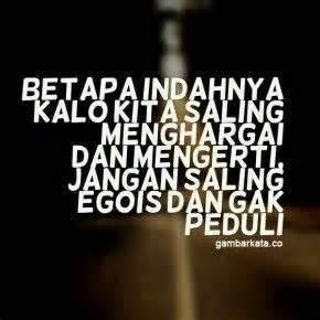 gambar kata kata   egois kata kata mutiara