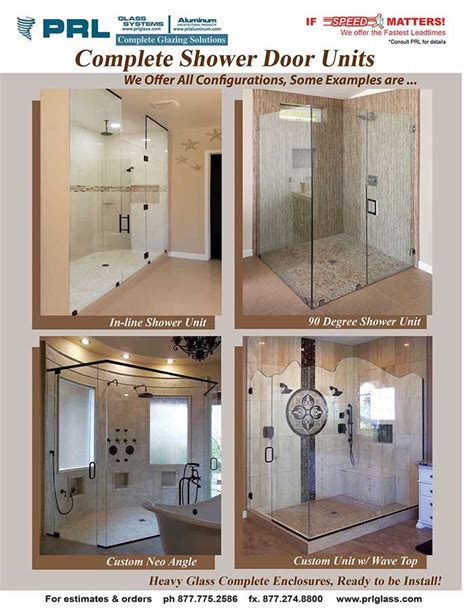 Complete Shower Units by Complete Shower Door Units