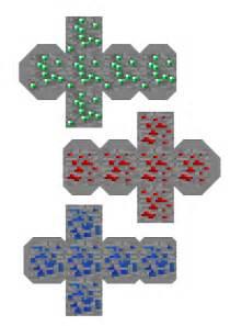 Minecraft Papercraft Redstone