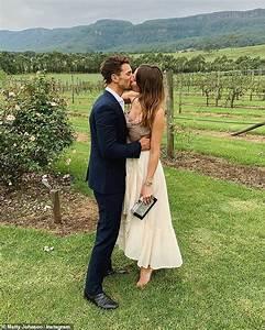 The Bachelor's Matty Johnson and pregnant partner Laura ...