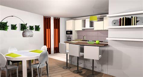 salon cuisine 50m2 great salon cuisine ouverte images gallery gt gt 10 cuisines