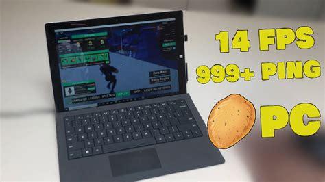 playing strucid   potato laptop roblox strucid youtube
