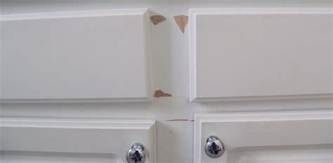 repair  paint plastic coated melamine cabinets