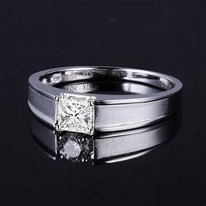 33 Carat Princess Cut Diamond Men39s Diamond Wedding Band
