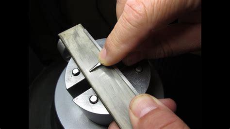 hand sharpening gravers youtube