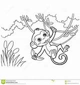 Coloring Pages Template Cartoon Vector sketch template