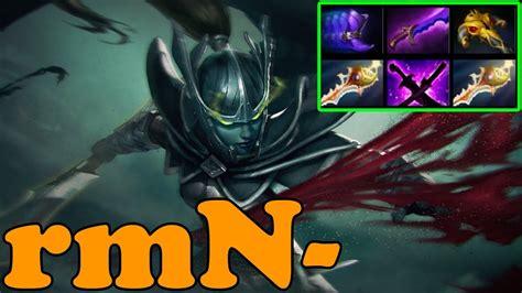 dota 2 rmn plays phantom assassin ranked match gameplay youtube