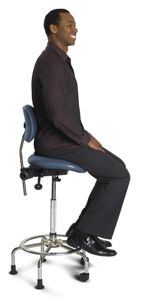ergocentric 3 in 1 sit stand chair agenda office interiors