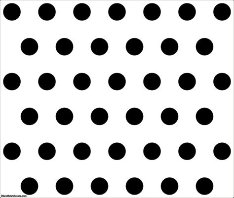 dot templates buy large polka dots wall stencil in 3 quot or 75mm holes stencil warehouse