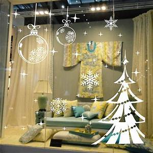 Christmas tree sticker Christmas Tree Snowflake Vinyl Wall