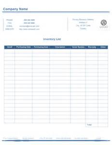 Expense Sheet Template Inventory List Form Free Inventory List Form Templates