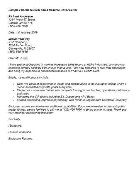 Pharmaceutical Account Manager Cover Letter | Best Bajimber