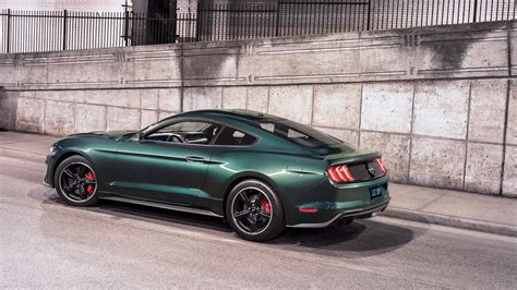 2019 Ford Mustang Bullitt 4k Wallpaper