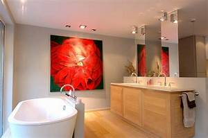 Salle De Bain Contemporaine : salle de bains contemporaine mobilier de salle de bain ~ Dailycaller-alerts.com Idées de Décoration