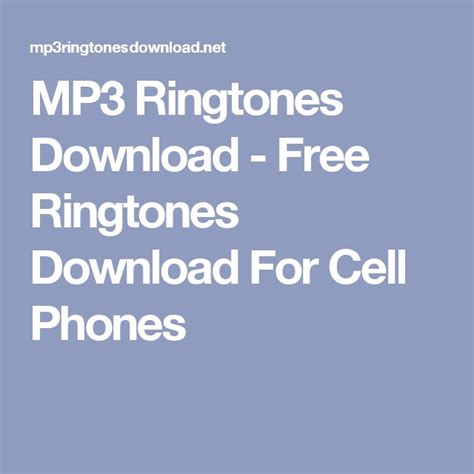 Mp3 Free For Mobile by Best 25 Ringtone Ideas Only On How