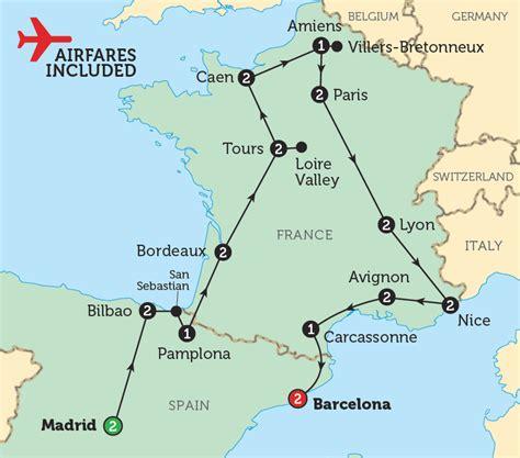spain  france map imsa kolese