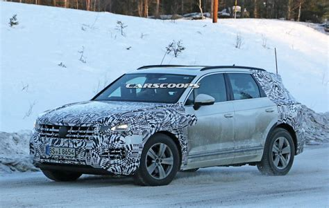 Allnew 2019 Vw Touareg Is Pretty Much The Production T