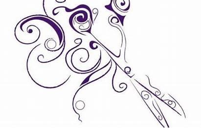Hair Clip Scissors Salon Clipart Hairdresser Shears