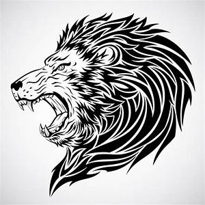 Cartoon Lion Roaring - Cliparts.co