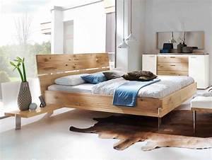 Moebel De Betten : bett thielemeyer loft mit holzkopfteil eiche g nstig massiva m ~ Indierocktalk.com Haus und Dekorationen