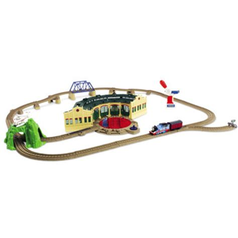 the tidmouth sheds playset trackmaster shake shake bridge playset