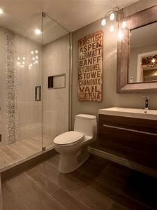 faux wood ceramic tiles for your bathroom continue the With bathrooms with wood tile floors