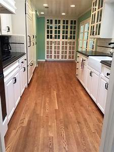 Light Stain For Red Oak Kitchen Floor White Oak Stained In English Chestnut