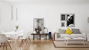 Les 10 regles dor et 100 exemples deco pour amenager une for Meuble salle À manger avec chaise noir salon