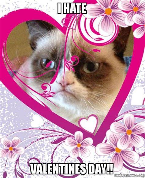 cat box i valentines day grumpy cat valentines day