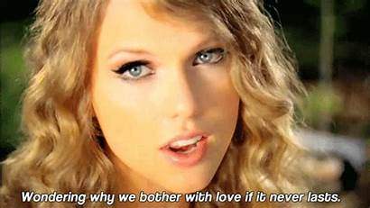 Swift Taylor Mine Never Gifs Song Quote