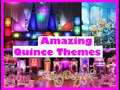 amazing quincewedding themes   fantasy