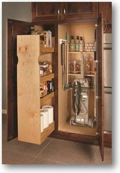 Kitchen Pantry Storage Cabinet Broom Closet by Broom Cabinet With Pull Out For The Home In 2019 Broom