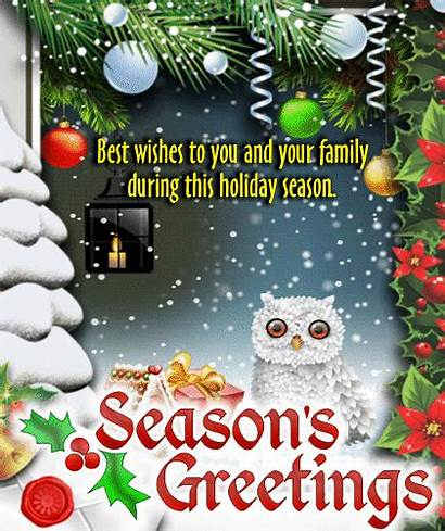 Holiday Season Wishes Ecard Wonderful Greetings Warm