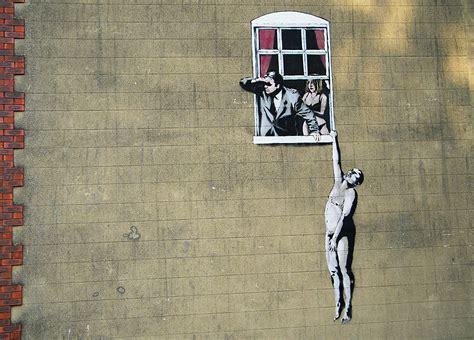 Famous Banksy Graffiti Art