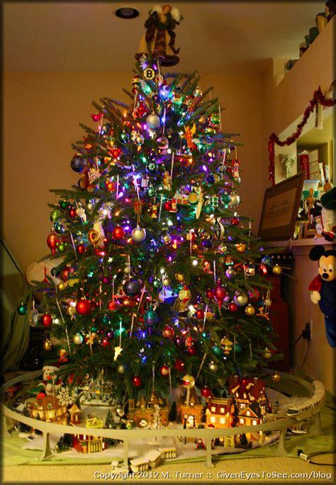disney world christmas trees oh christmas tree given to see 2957